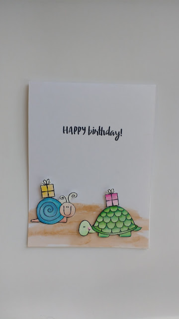 birthday card by ishani