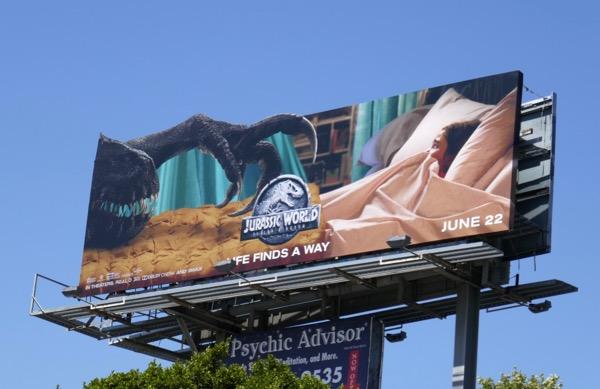 Jurassic World Fallen Kingdom movie billboard