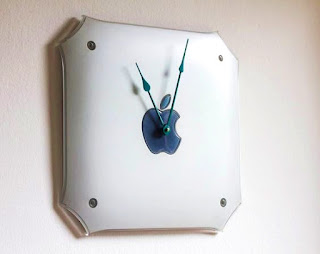 reloj reciclado mac