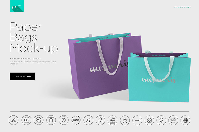 Paper Bags Mock-up