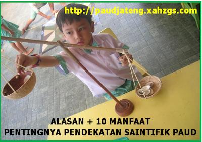 10 Manfaat dan Pentingnya Pembelajaran Saintifik PAUD manfaat pendekatan saintifik kurikulum 2013, alasan pentingnya pembelajaran pendekatan saintifik paud