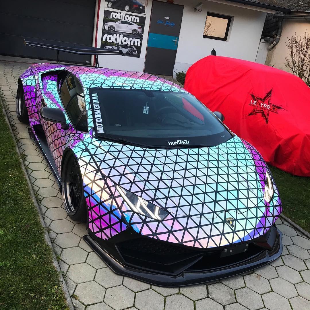 Der Lamborghini Hurracan von Lexy Roxx ist fertig !!!