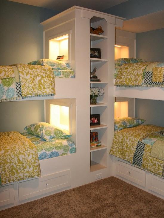 Hogares Frescos: 40 Ideas Para Diseñar el Dormitorio de los Niños.