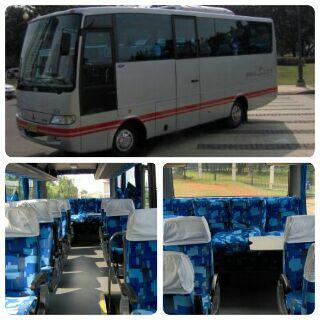 bus antar jemput, bus karyawan, bus shuttle