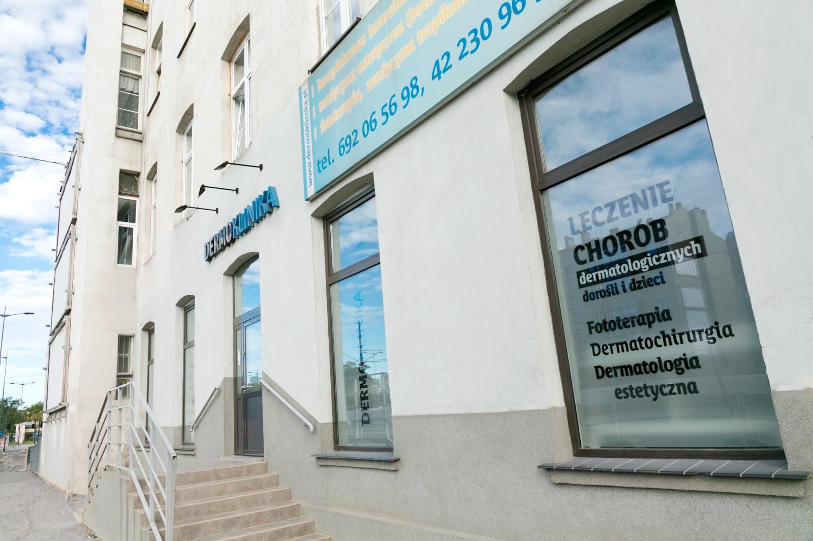 zdjęcie budynku Dermokliniki w Łodzi