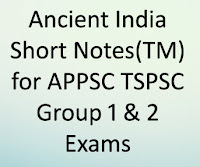 Bits in Telugu Medium for TSPSC Group 1 & Group 2 General Studies