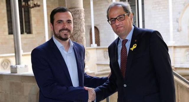 Alberto Garzón aboga por un modelo republicano en España