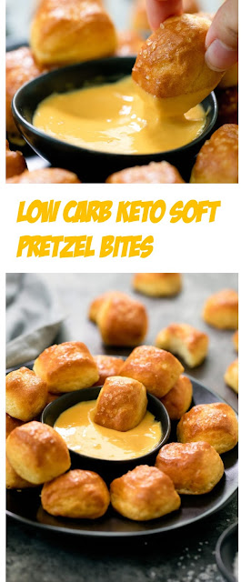 LOW CARB KETO SOFT PRETZEL BITES