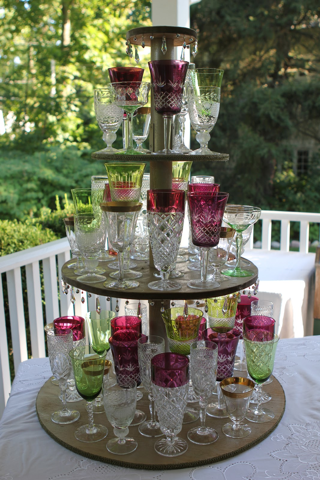 Romancing The Home Wedding Reception At Home The Morning Of