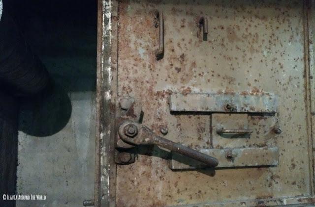puerta del búnker en Stuttgart