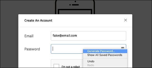 اليك أداة مخفية لإنشاء كلمات المرور في متصفح Chrome