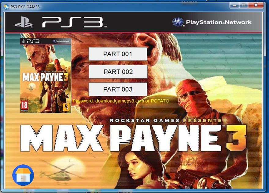 الأيقونة التقنية: العاب Playstation 3 بصيغة PKG