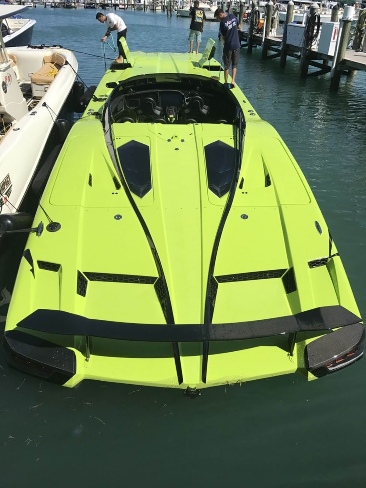 Buy This Lamborghini Aventador Sv Roadster Get A Matching Speedboat W Videos Carscoops