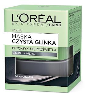 L'Oreal Paris, Skin Expert, Maska czysta glinka detoksykująco-rozświetlająca