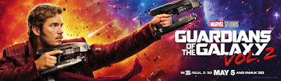 Marvel's Guardians of the Galaxy Vol. 2 Character Movie Banner - Star-Lord