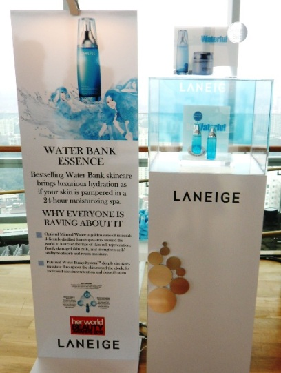 laneige water bank essence launch