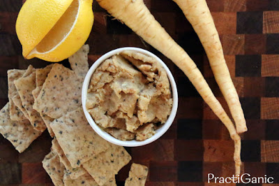 Roasted Parsnip and Horseradish Dip