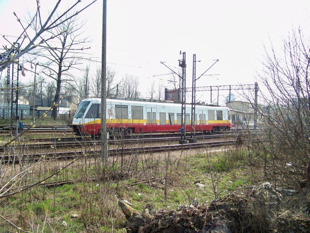 Małopolski nowoczesny pociąg na lotnisko w Balicach (3)