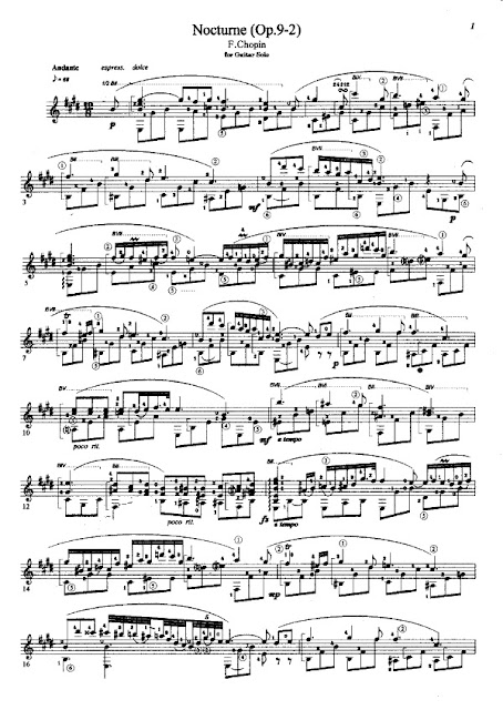 Frederic Chopin - Nocturno Op.9-2