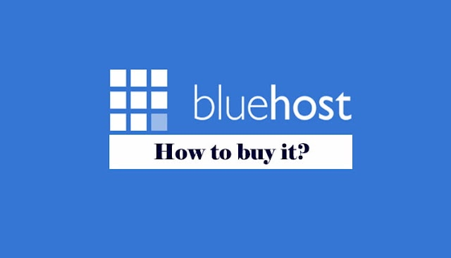 Bluehost web hosting kaise kharide - step-by step guide