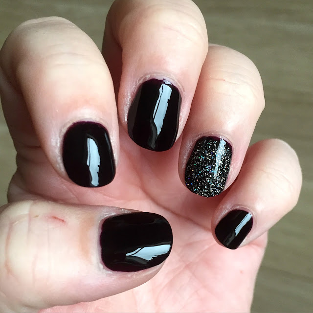 NOTD - Barry M Blackcurrant