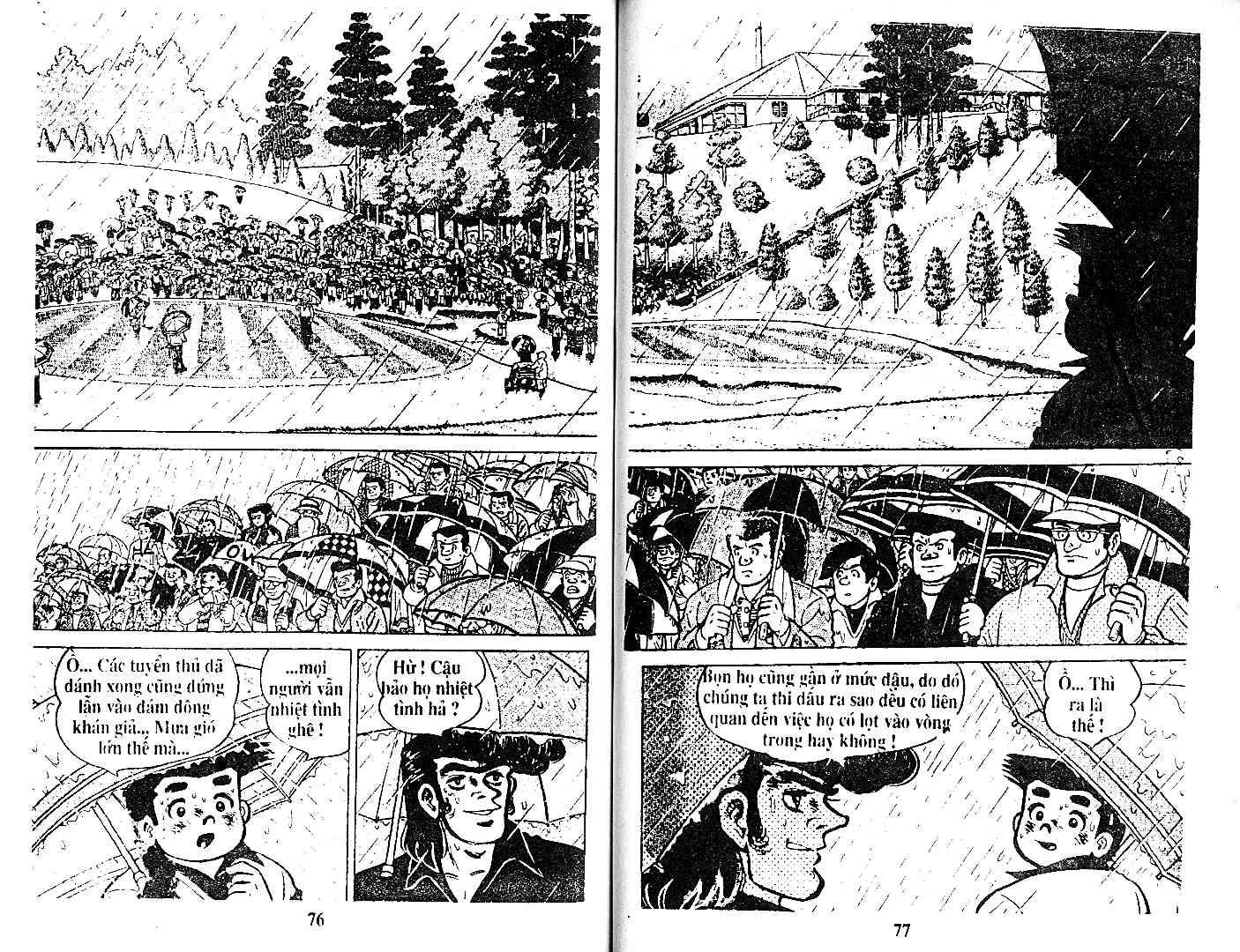 Ashita Tenki ni Naare chapter 27 trang 37