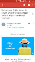 cara mendapatkan hadiah dari google local guide