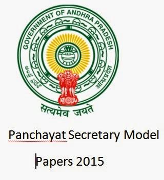 Pdf model panchayat secretary papers