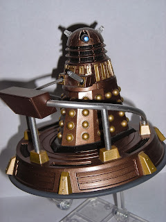The Dalek takes to the skies