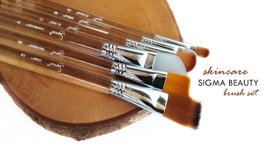 What Indira Loves: [TOOLS] Sigma Beauty - Skincare Brush Set*