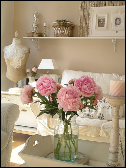 Decoración con flores