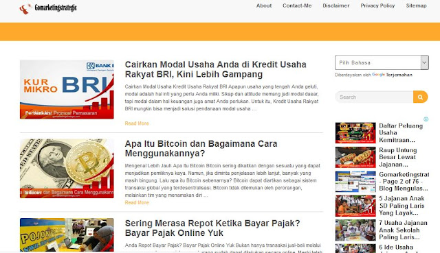 Profile Pemilik Blog Gomarketingstrategic.com (Hartono)
