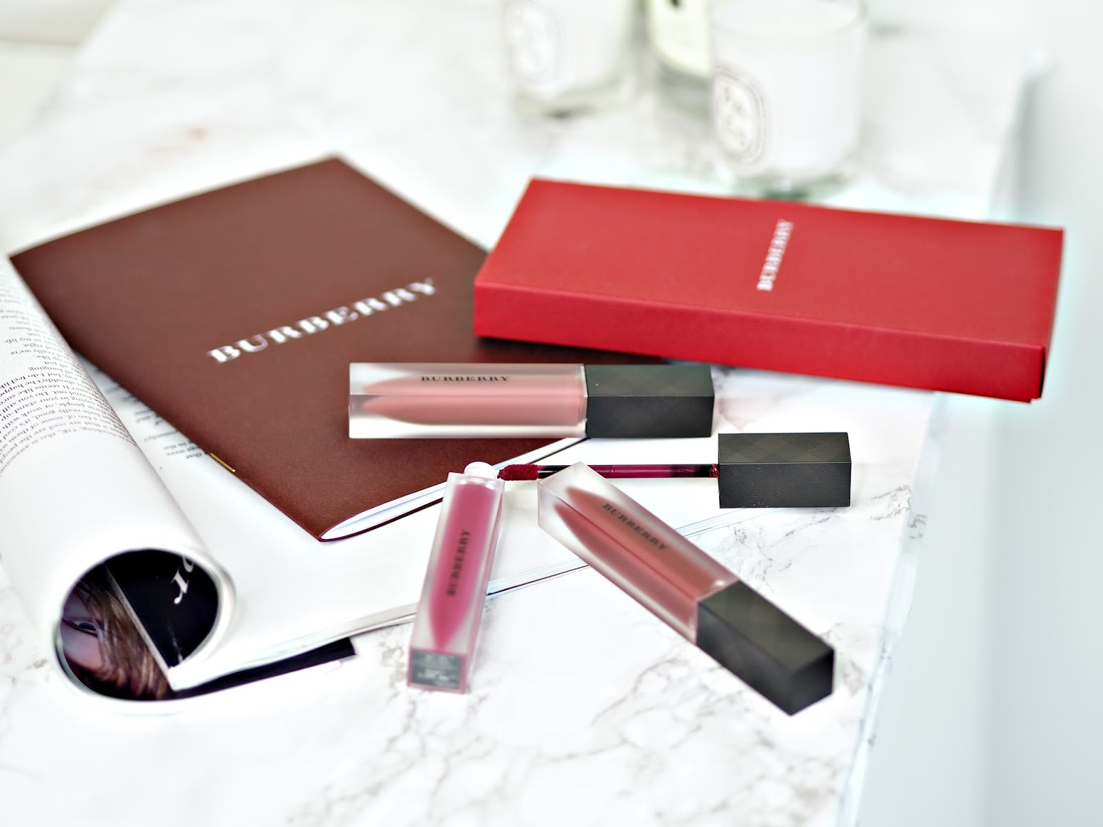 Burberry Liquid Lip Velvet Lipsticks