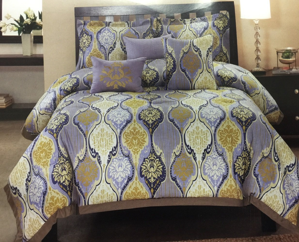 Total Fab: Yellow and Grey Comforter Sets and Bedding