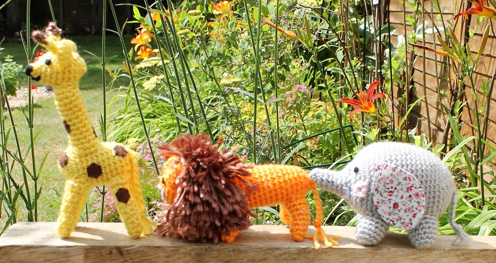 Crochet Amigurumi Safari