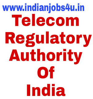 Telecom Regulatory Authority Of India(TRAI) Recruitment 2018 | www.trai.gov.in