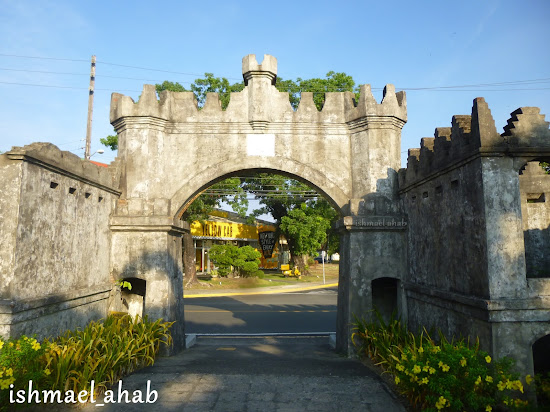 The west gate of the Spanish Naval Base in Subic Bay