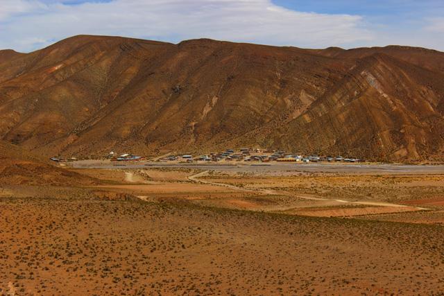 San Pablo de Lípez, capital de la provincia Sur Lípez o Sud Lípez
