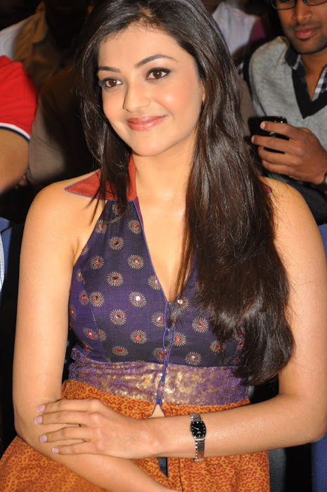 kajal agarwal at businessman platinum disc event, kajal new hot images