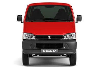 Maruti Suzuki Eeco red color image