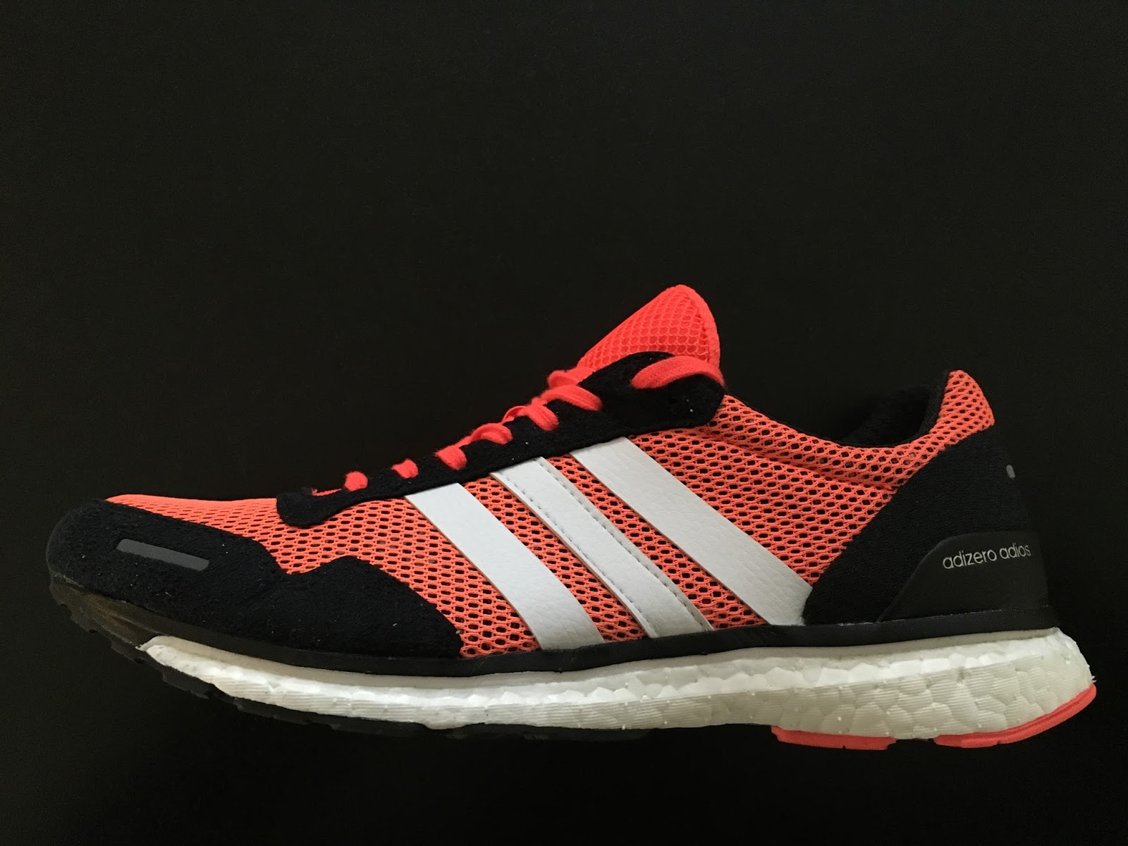 quite nice 012c9 898c7 adidas adizero adios Boost 3 Review  World Record Holder Relaxes.