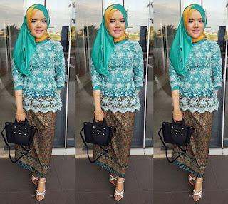Hijab Kebaya Pesta Terkini