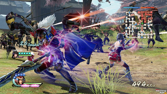 Samurai Warriors 4 en Ps4
