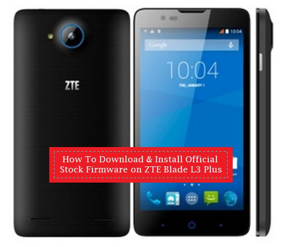 How To Download & Install Official Stock Firmware on ZTE