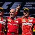 F1: Vettel, Räikkönen y todo Ferrari celebreron una victoria muy dura en Hungría