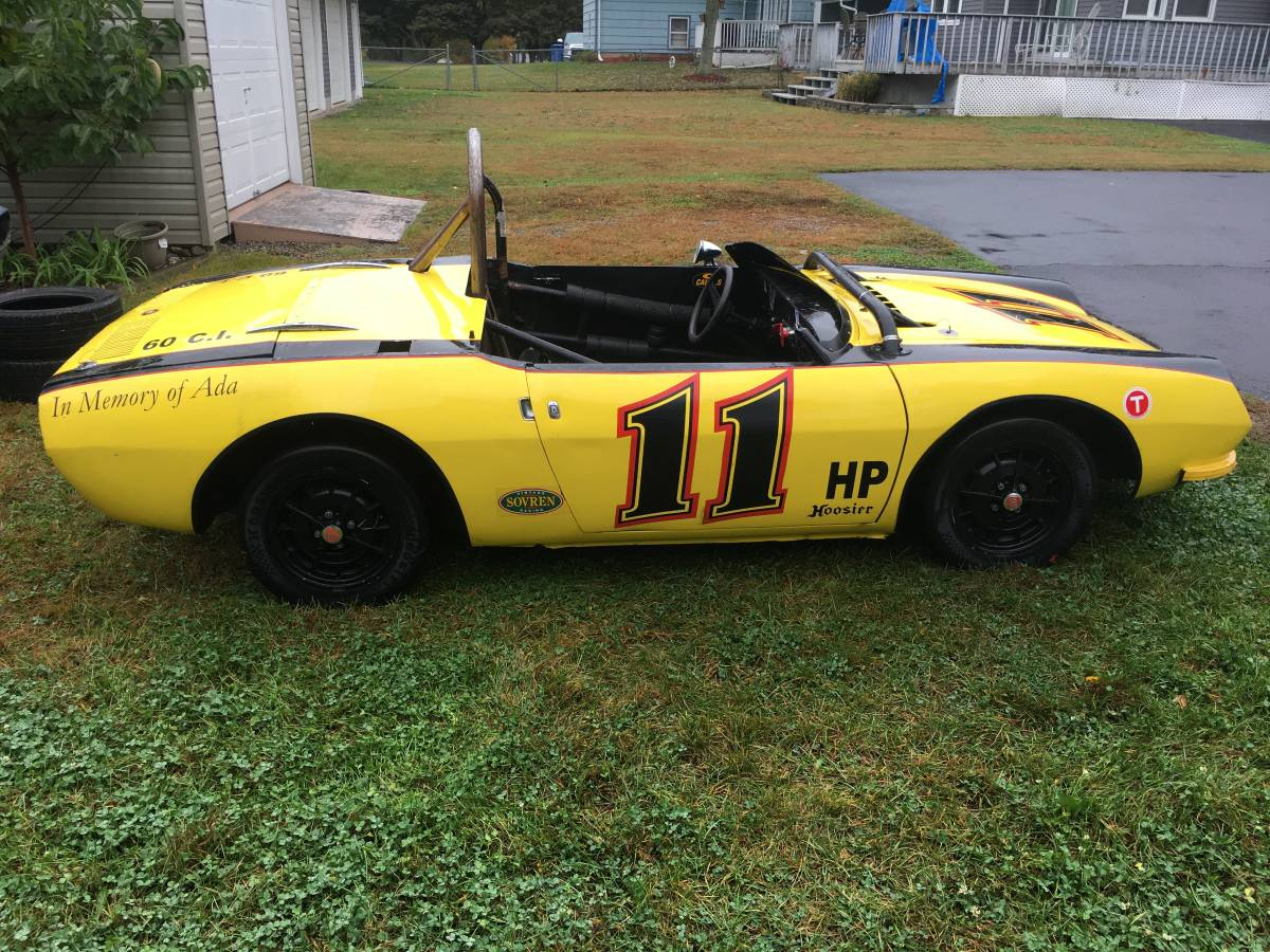 very solid custom fiat 850 spider race car drivetrain is out but available engine it s apart and needs a rebuilt but you can put almost anything in the  [ 1200 x 900 Pixel ]