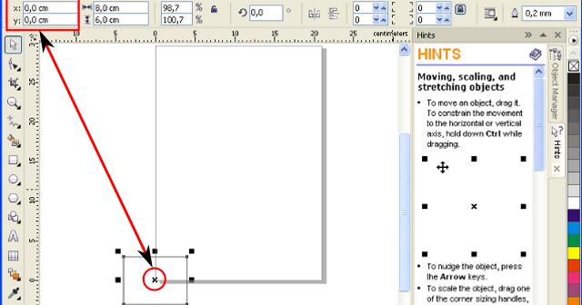 Mengenal Koordinat Object Pada Inkscape Dan Corel Draw