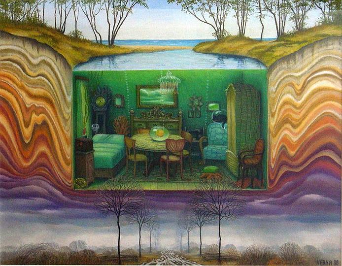 Aquário - Jacek Yerka e seu surrealismo fantástico ~ Polonês