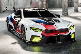 BMW M8 GTE 2018 Front Side