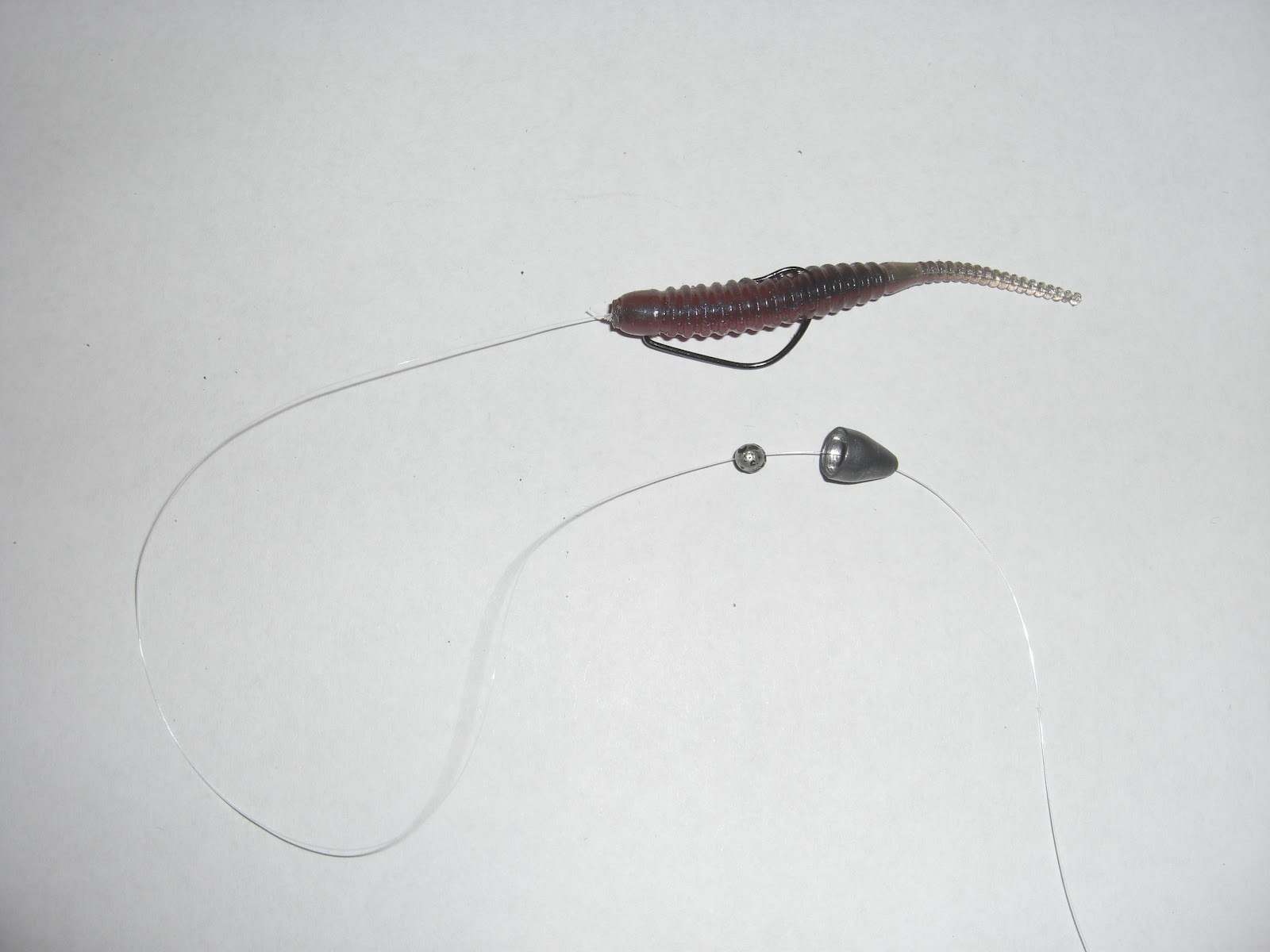 Lure and light game light game wrasse for Carolina rig fishing